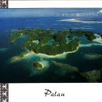 Palau looks idyllic from the air, but has the usual Pacific problems of obesity, deforestation and litter.