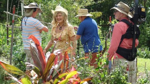 Seed Savers on Gardening Australia 9th August